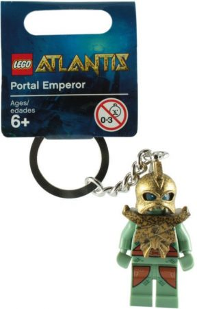852907 LEGO® Atlantis Portal emperor kulcstartó