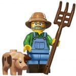COL15-1 LEGO® Minifigurák 15. sorozat Farmer