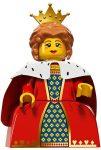 COL15-16 LEGO® Minifigurák 15. sorozat Királynő