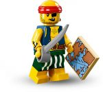 COL16-9 LEGO® Minifigurák 16. sorozat Mihaszna kalóz