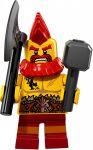 COL17-10 LEGO® Minifigurák 17. sorozat Harci törpe