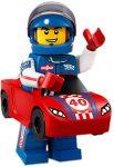 COL18-13 LEGO® Minifigurák 18. sorozat Versenyautós fiú