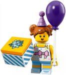 COL18-6 LEGO® Minifigurák 18. sorozat Születésnapi zsúrozó lány