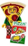 COL19-10 LEGO® Minifigurák 19. sorozat Pizzajelmezes fiú