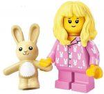 COL20-15 LEGO® Minifigurák 20. sorozat Pizsamás lány