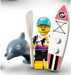 COL21-1 LEGO® Minifigurák 21. sorozat Evezős szörfös