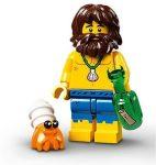 COL21-3 LEGO® Minifigurák 21. sorozat Hajótörött