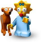 COLSIM2-4 LEGO® Minifigurák A Simpson család™ 2. sorozat Maggie Télapó segédjével