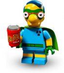 COLSIM2-6 LEGO® Minifigurák A Simpson család™ 2. sorozat Milhouse mint Fallout Boy