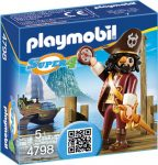 Playmobil Super 4 4798 Sharkbeard kapitány