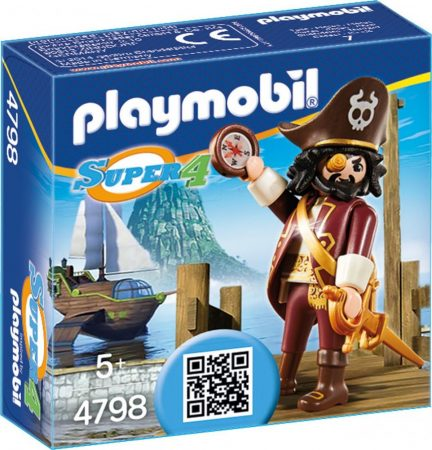 Playmobil Super 4 4798 Sharkbeard kapitány