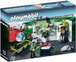Playmobil Top Agents 4880 Gengszter laboratórium multifunkciós zseblámpával