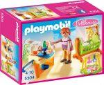 Playmobil Dollhouse 5304 Babaház - Babaszoba gyerekágyal
