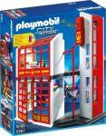 Playmobil City Action 5361 Tűzoltó parancsnokság riasztás jelzővel
