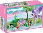 Playmobil Princess 5478 Gyerekek pegazus családdal