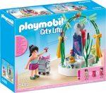 Playmobil City Life 5489 Plázadekoráció és tervezője