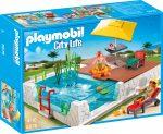 Playmobil City Life 5575 Családi medence