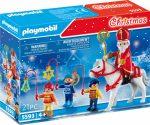 Playmobil Christmas 5593 Szent Miklós és gyermekkísérete
