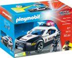 Playmobil City Action 5673 Rendőrautó villogóval és rendőrökkel