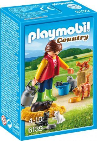 Playmobil Country 6139 Tarka macska család