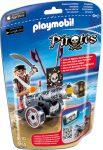 Playmobil Pirates 6165 Kalóz fekete ágyúval