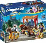 Playmobil Super 4 6695 Alex a királyi emelvénynél
