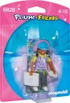 Playmobil Playmo-friends 6828 Playmo-Friends Mé Dia Specialista zenét hallgató lány