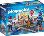 Playmobil City Action 6878 Rendőrségi blokád