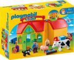 Playmobil 1.2.3 6962 Hordozható farm