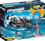 Playmobil Top Agents 70006 S.H.A.R.K. csapat motorcsónakja