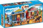 Playmobil Western 70012 Hordozható western város