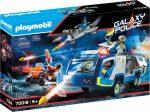 Playmobil Galaxy Police 70018 Rendőrségi teherautó