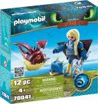 Playmobil Dragons 70041 Astrid repülő ruhában Hammanóval