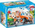 Playmobil City Life 70049 Mentőautó fénnyel és hanggal