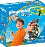 Playmobil Sports & Action 70055 Titkos ügynok kirántható repülő