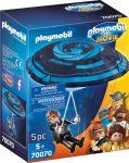 Playmobil Playmobil - The Movie 70070 Rex Dasher ejtőernyővel érkezik