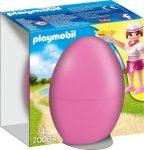 Playmobil Kiegészítők 70084 Pincérnő pénztárgéppel húsvéti tojásban