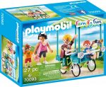 Playmobil Family Fun 70093 Családi kerékpározás