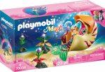 Playmobil Magic 70098 Meerjungfrau mit Schneckengondel