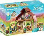 Playmobil Spirit Riding Free 70118 Lucky, Pru & Abigail istállója