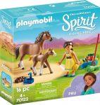 Playmobil Spirit Riding Free 70122 Pru lóval és csikóval