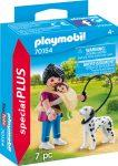 Playmobil Kiegészítők 70154 Anyuka kisbabával és kutyával
