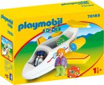 Playmobil 1.2.3 70185 Utasszállító repülőgép