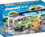 Playmobil City Life 70201 Nagy benzinkút