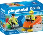 Playmobil City Life 70203 Utcaseprő