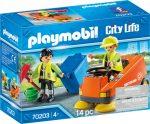 Playmobil City life 70203 Utcaseprő