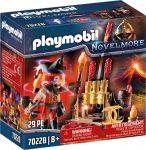 Playmobil Novelmore 70228 Burnham Raiders: Tűzijáték és a tűzmester