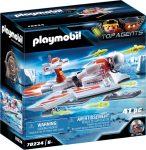 Playmobil Top Agents 70234 Spy Team vitorlázó repülő