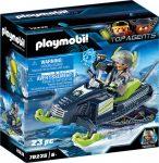 Playmobil Top Agents 70235 Arctic Rebels jégszán
