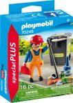 Playmobil Special Plus 70249 Utcaseprő kukával és seprűvel